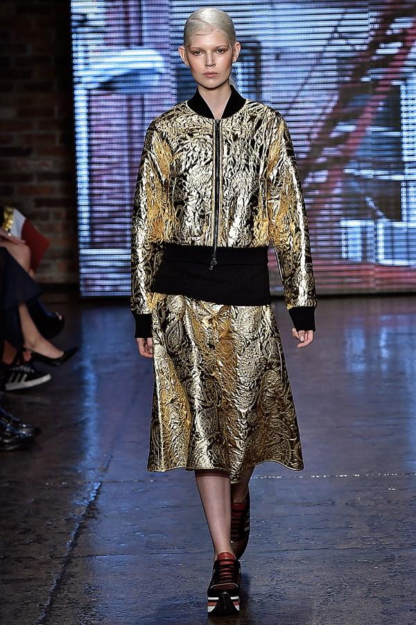 Женские костюмы с юбкой лето 2015 DKNY