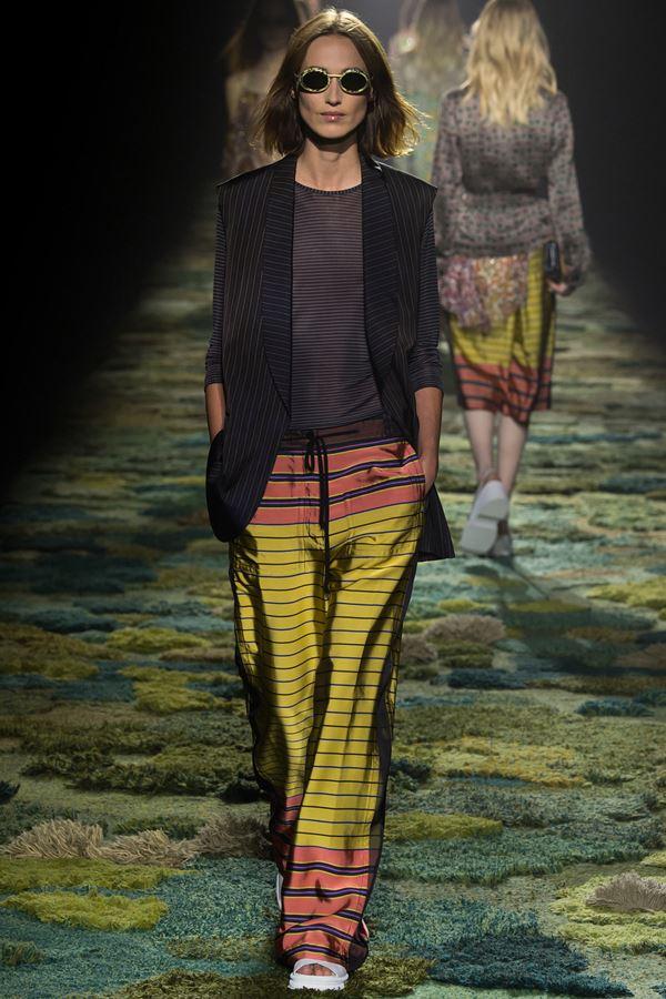 Dries van Noten модные жилеты весна-лето 2015