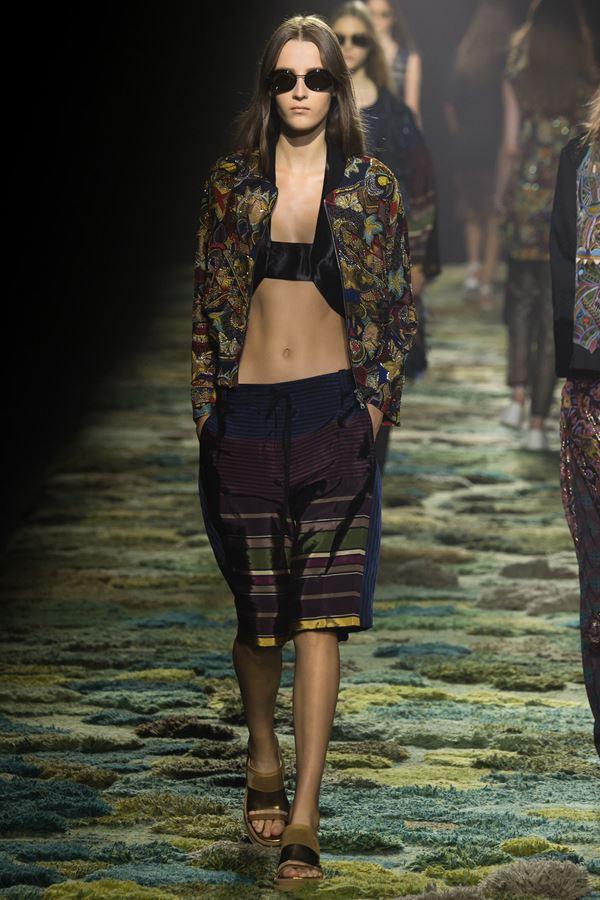 Модные бриджи весна-лето 2015 Dries van Noten