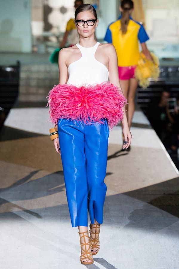 Dsquared укороченные брюки весна-лето 2015