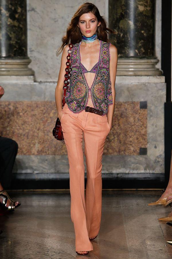Emilio Pucci модные жилеты весна-лето 2015