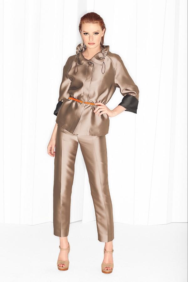 Женские брючные костюмы весна-лето 2015 Escada