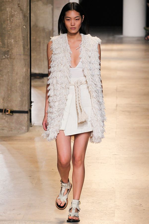 Isabel Marant модные жилеты весна-лето 2015