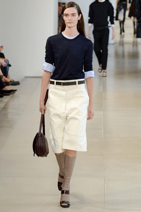 Модные бриджи весна-лето 2015 Jil Sander