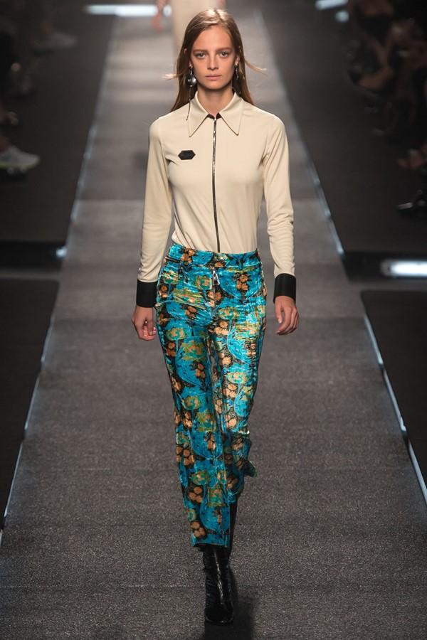 Louis Vuitton брюки с принтом весна-лето 2015