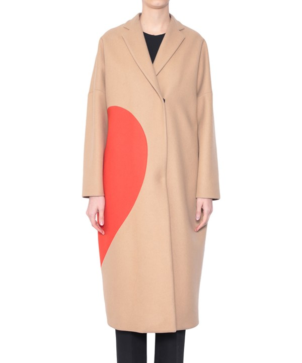 пальто oversize MSGM