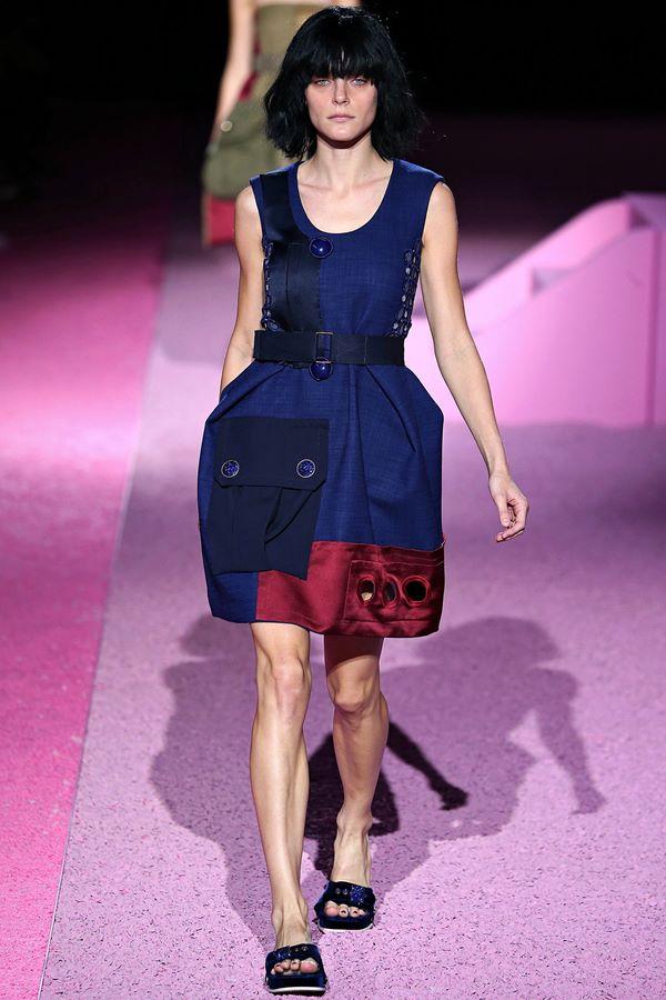 Синие платья весна-лето 2015 Marc Jacobs