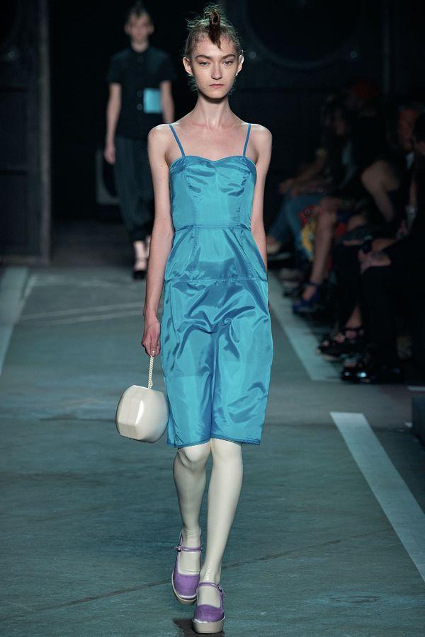 Голубые платья весна-лето 2015 Marc by Marc Jacobs