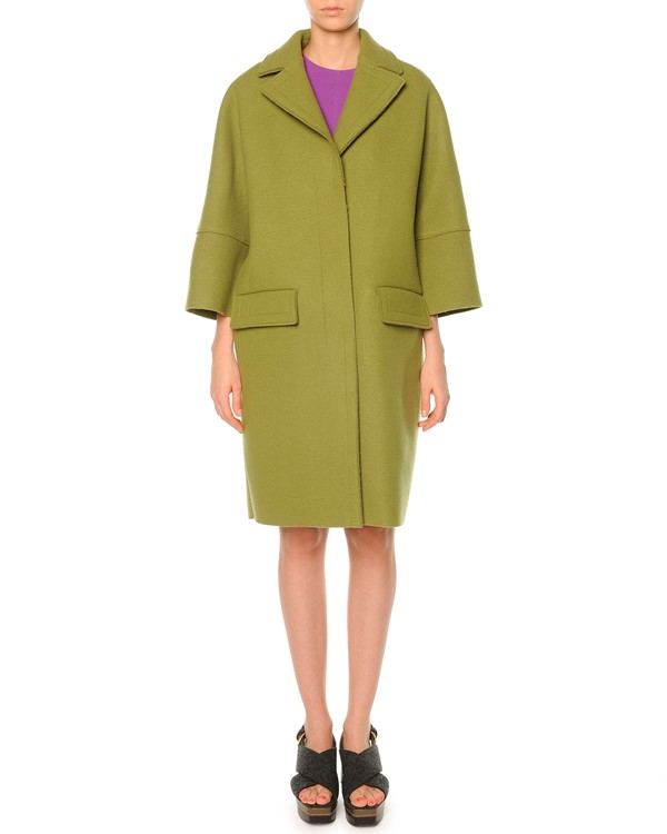 пальто oversize Marni