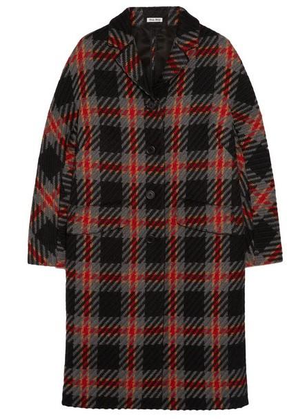 пальто oversize Miu Miu