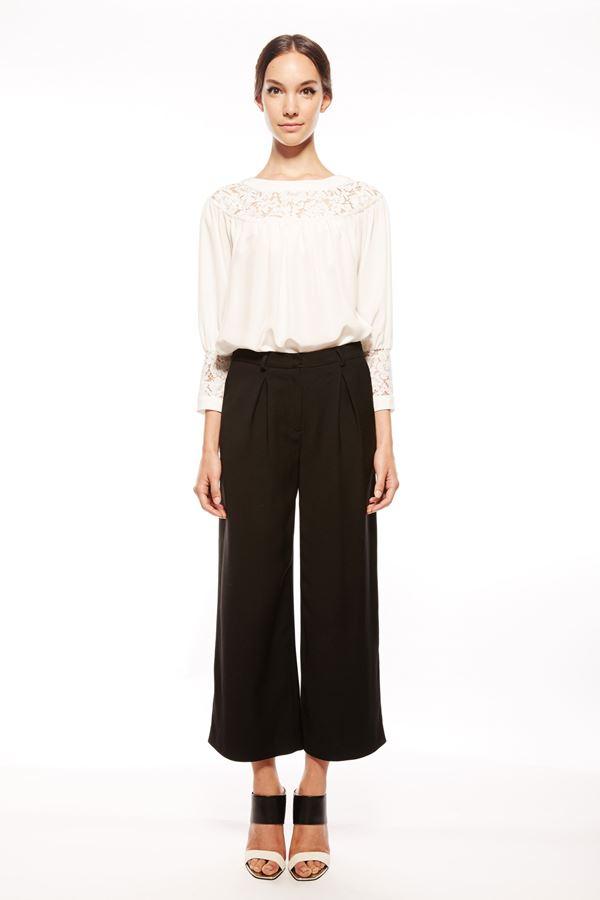 Rachel Zoe укороченные брюки весна-лето 2015