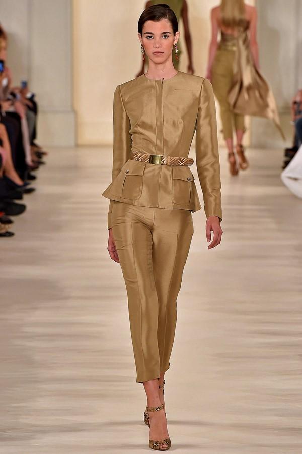 Женские брючные костюмы весна-лето 2015 Ralph Lauren