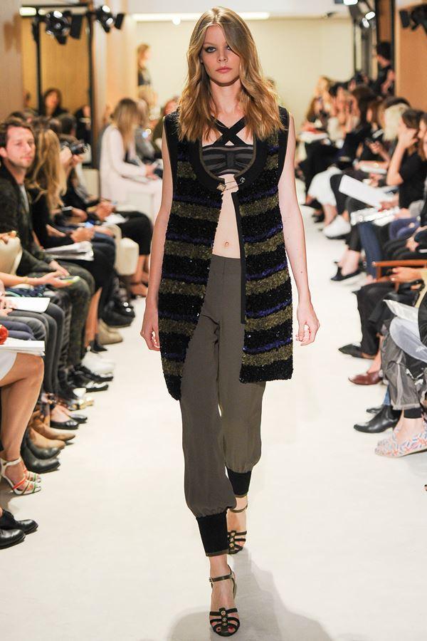 Sonia Rykiel модные жилеты весна-лето 2015