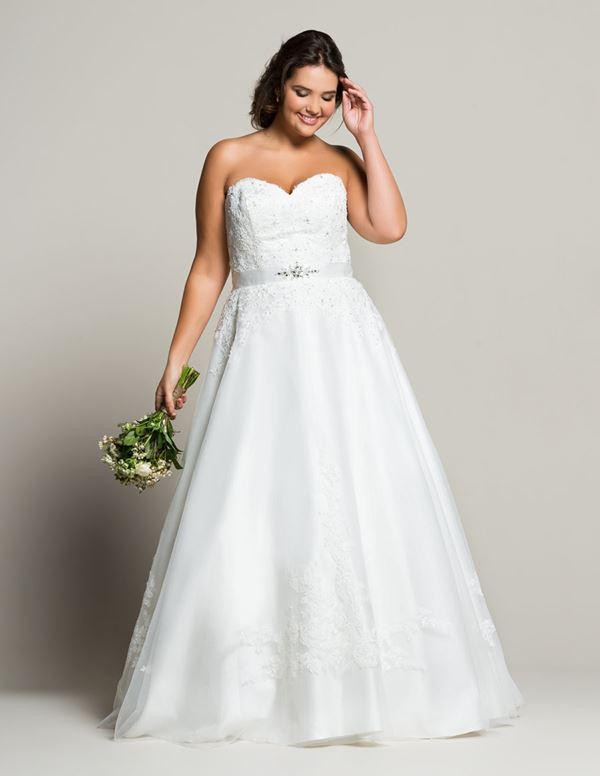 Свадебное платье для полных Navabi  (10)
