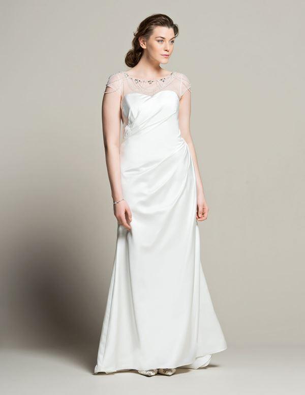 Свадебное платье для полных Navabi  (4)