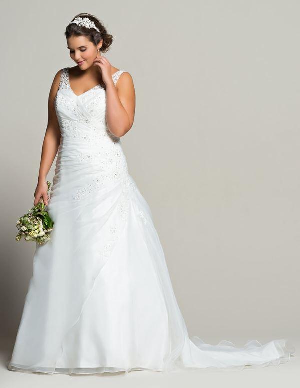 Свадебное платье для полных Navabi  (8)