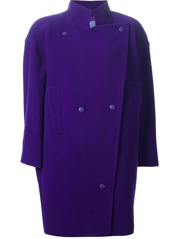 пальто oversize Thierry Mugler Vintage