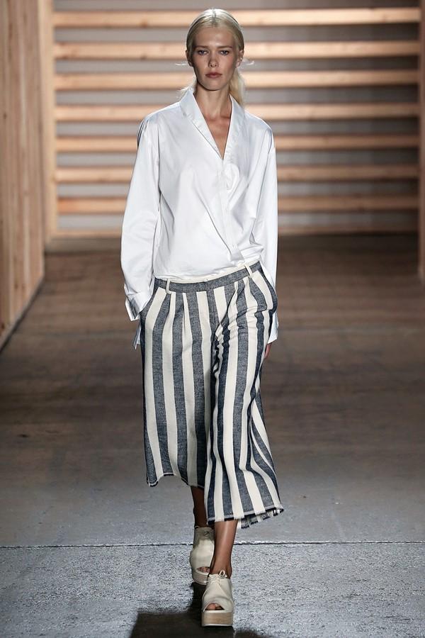 Tibi брюки с принтом весна-лето 2015