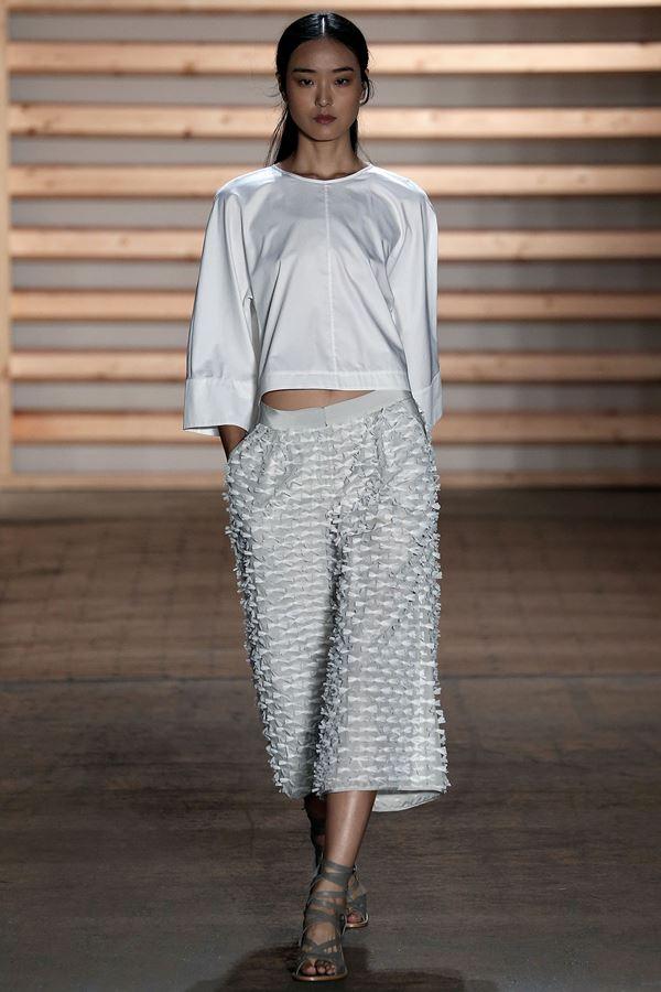 Tibi укороченные брюки весна-лето 2015