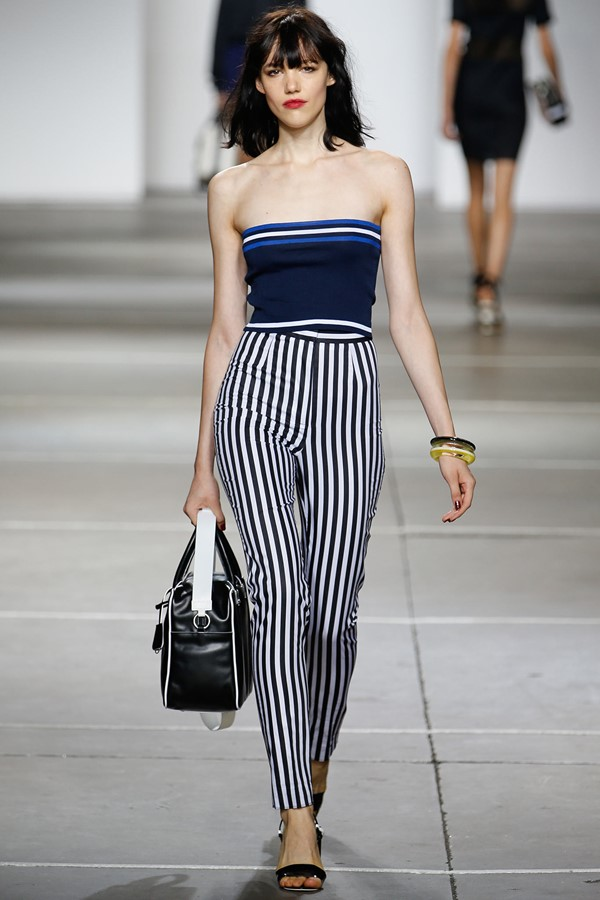 Topshop Unique брюки с принтом весна-лето 2015