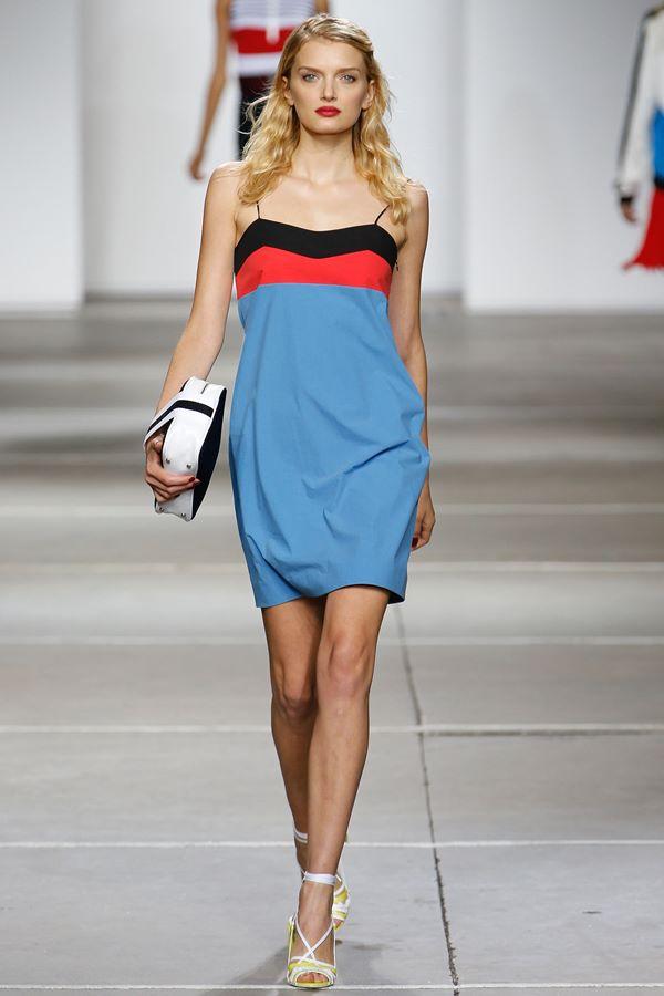 Голубые платья весна-лето 2015 Topshop Unique