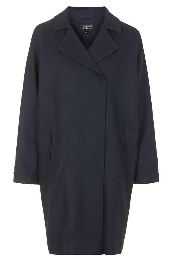пальто oversize Topshop