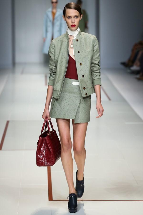 Женские костюмы с юбкой лето 2015 Trussardi
