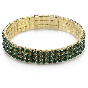 Золотые браслеты с изумрудами 2015 (14)
