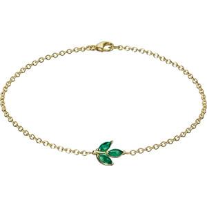 Золотые браслеты с изумрудами 2015 (3)