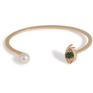 Золотые браслеты с изумрудами 2015 (4)