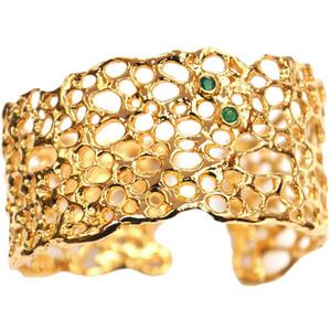 Золотые браслеты с изумрудами 2015 (5)