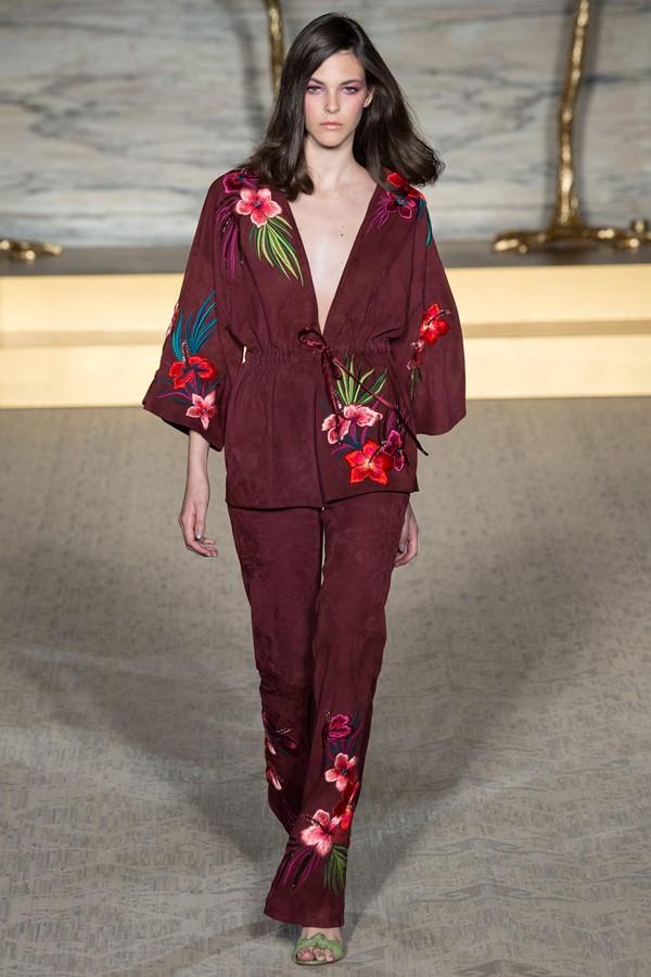Женские брючные костюмы весна-лето 2015 Matthew Williamson