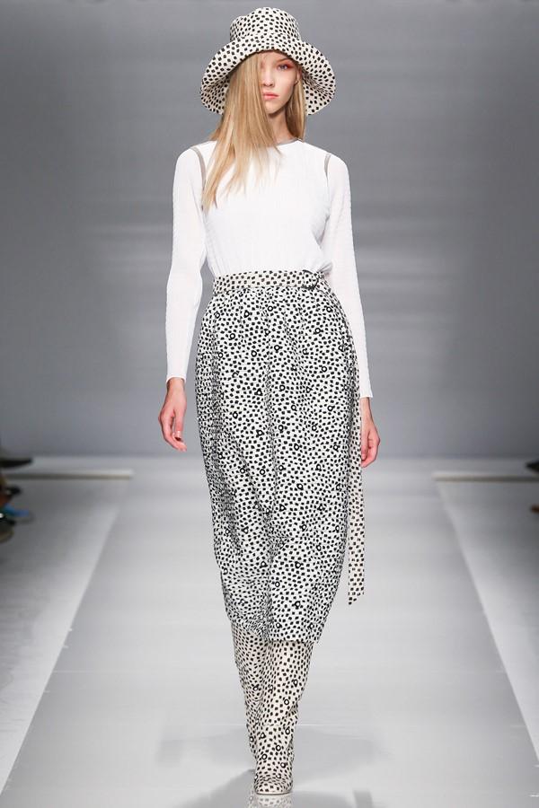 Max Mara брюки с принтом весна-лето 2015