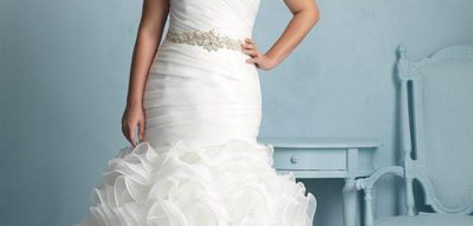 Свадебные платья для полных 2015 от Allure Bridals
