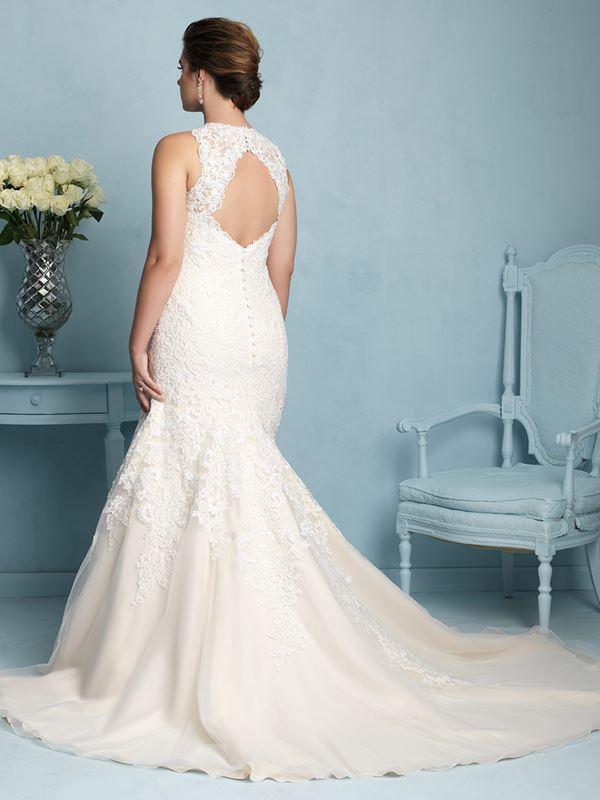 свадебные платья для полных Allure Bridals 2015 (10)