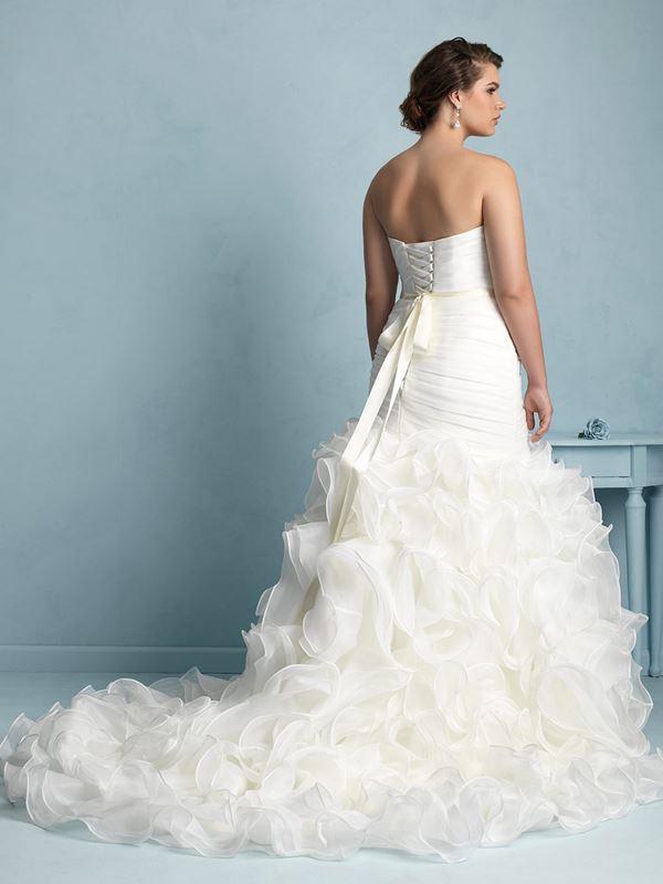 свадебные платья для полных Allure Bridals 2015 (12)