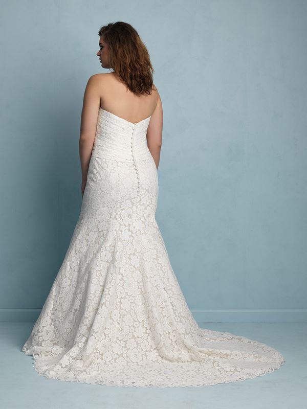 свадебные платья для полных Allure Bridals 2015 (13)