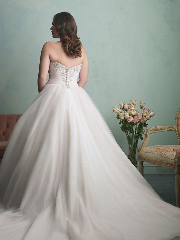 свадебные платья для полных Allure Bridals 2015 (2)