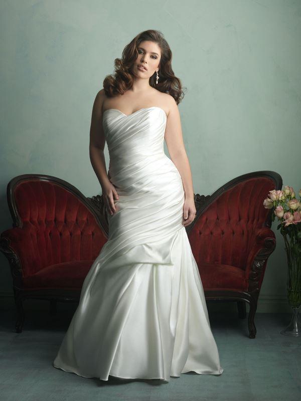 свадебные платья для полных Allure Bridals 2015 (3)