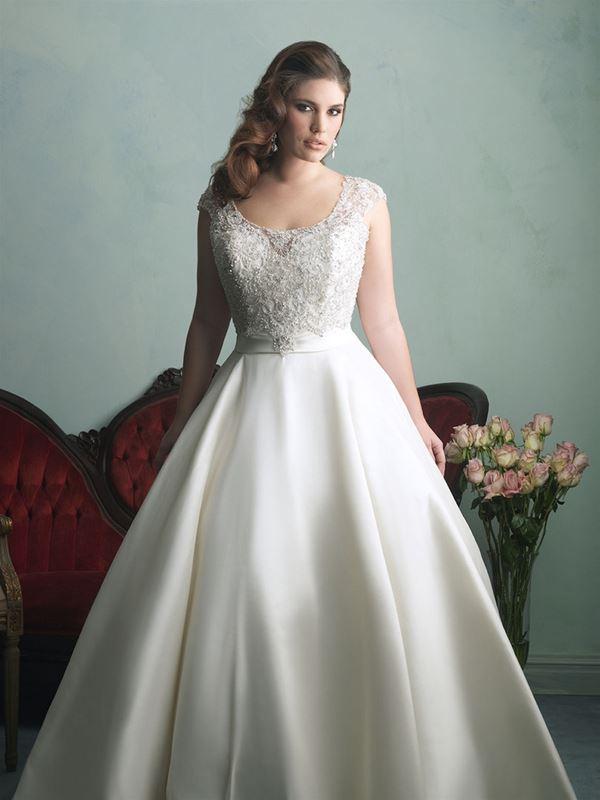 свадебные платья для полных Allure Bridals 2015 (5)