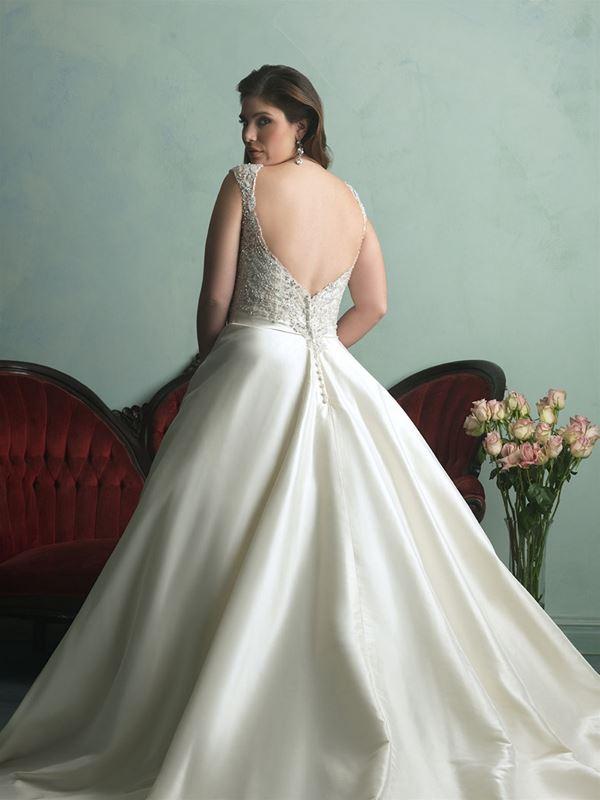свадебные платья для полных Allure Bridals 2015 (6)