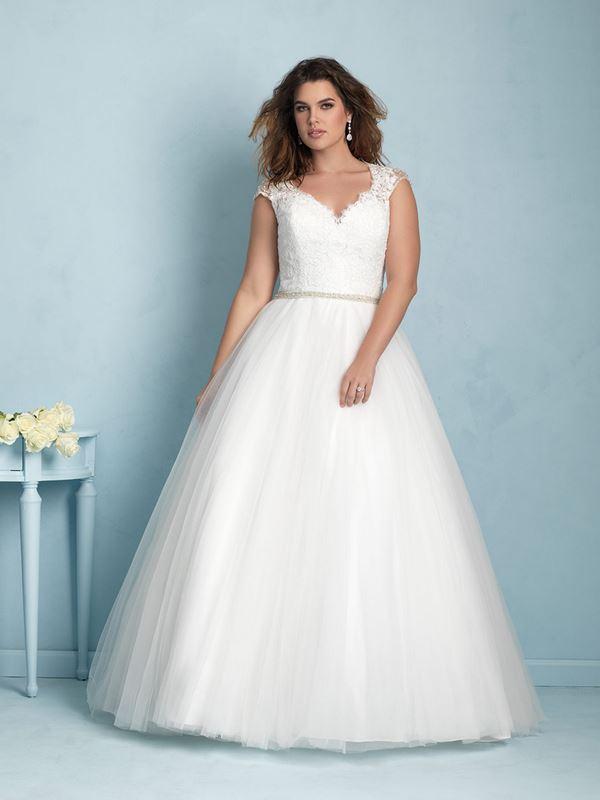 свадебные платья для полных Allure Bridals 2015 (7)