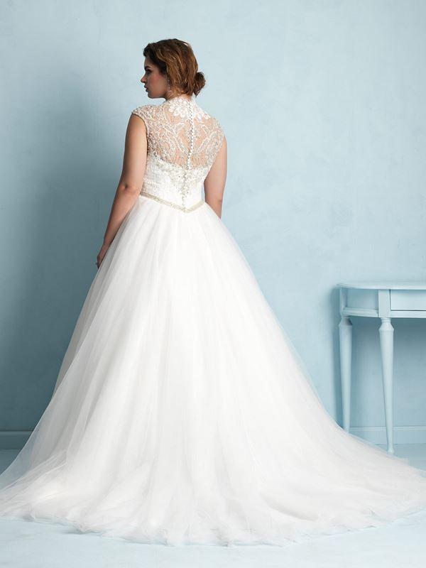 свадебные платья для полных Allure Bridals 2015 (8)
