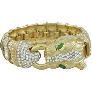 золотые браслеты с изумрудами (22)