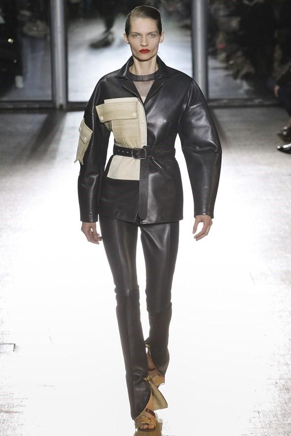 Кожаные куртки осень-зима 2015-2016: Acne Studios