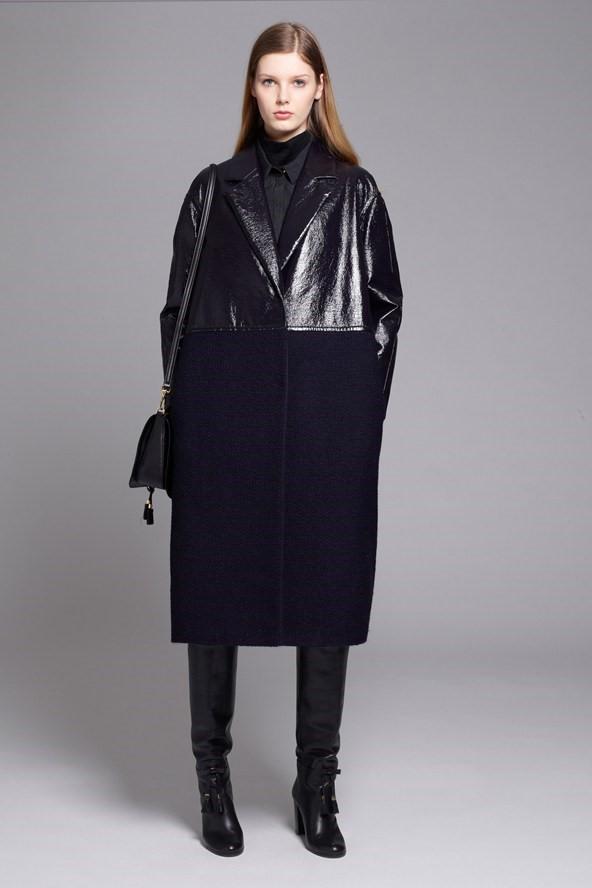 Кожаные пальто и плащи осень-зима 2015-2016: Acne Studios