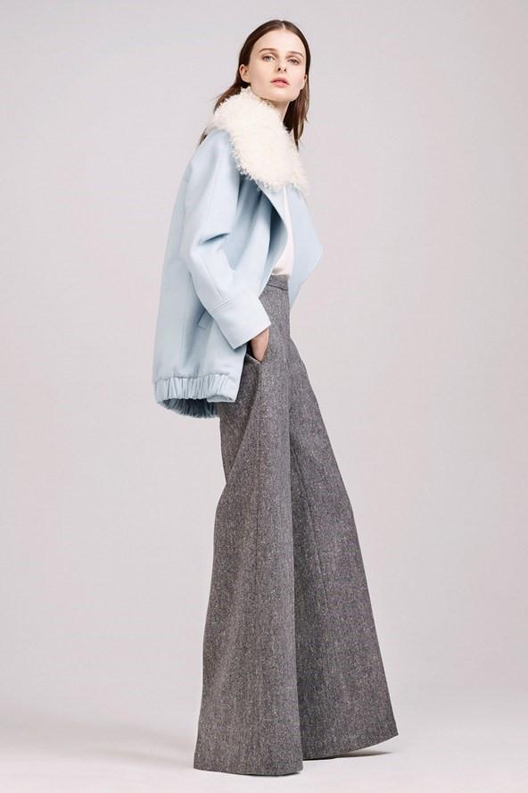 Широкие брюки осень-зима 2015-2016  Adam Lippes