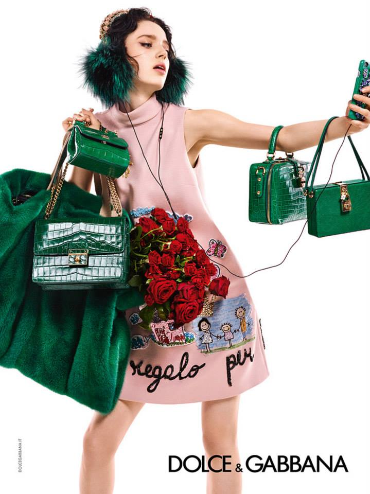 Dolce&Gabbana рекламная кампания осень-зима 2015-2016 (2)
