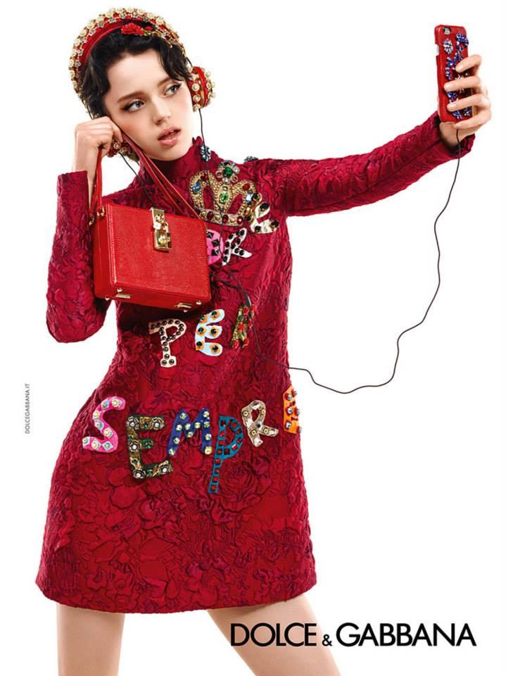 Dolce&Gabbana рекламная кампания осень-зима 2015-2016 (3)