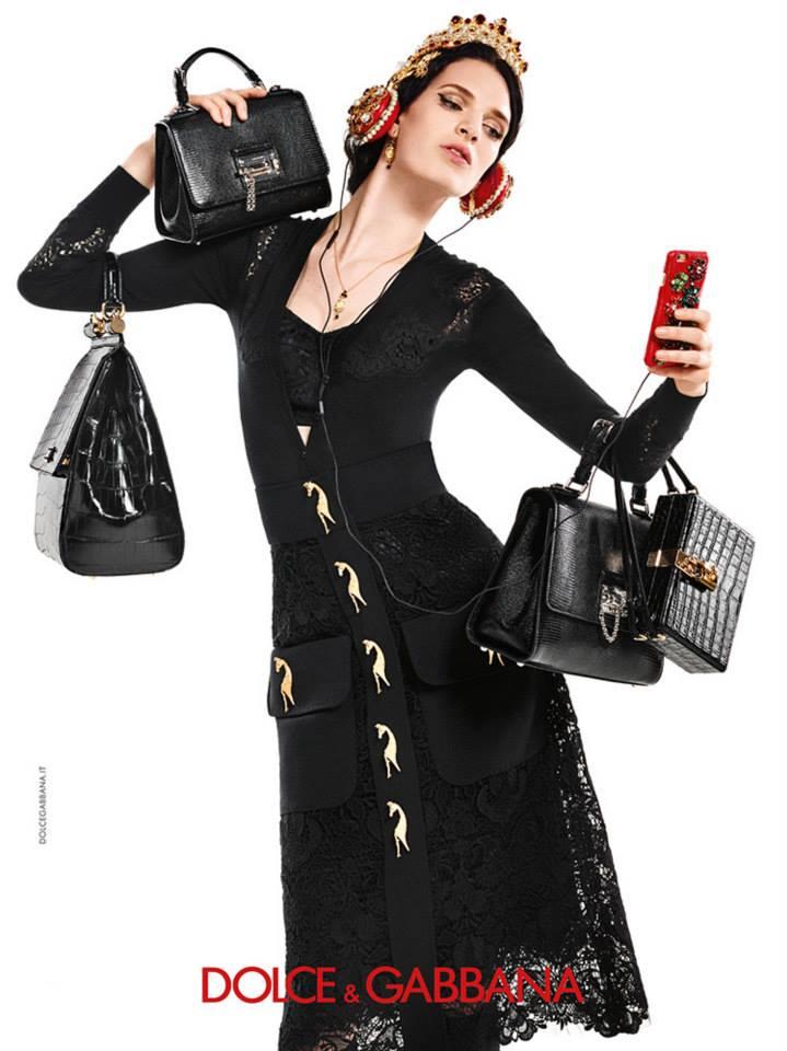 Dolce&Gabbana рекламная кампания осень-зима 2015-2016 (5)